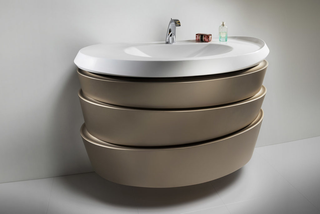 Meuble vasque Virtuose par DECOTEC