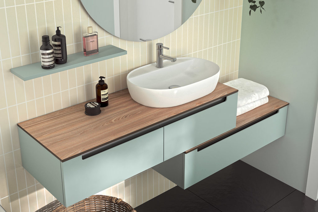 Bento, meubles de salle de bains par DECOTEC