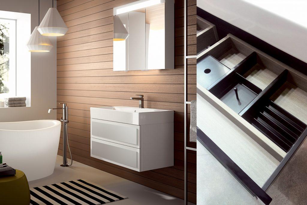 Meuble de salle de bain Elysée par DECOTEC