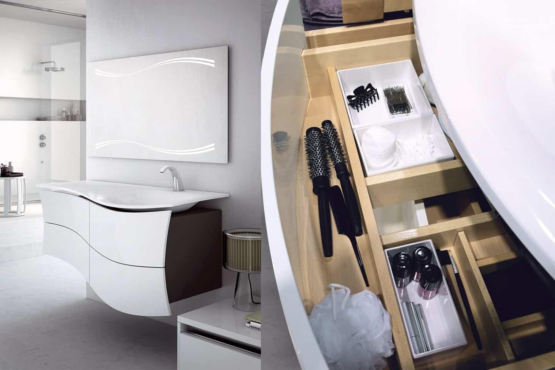 Maestro meuble de salle de bain design par DECOTEC