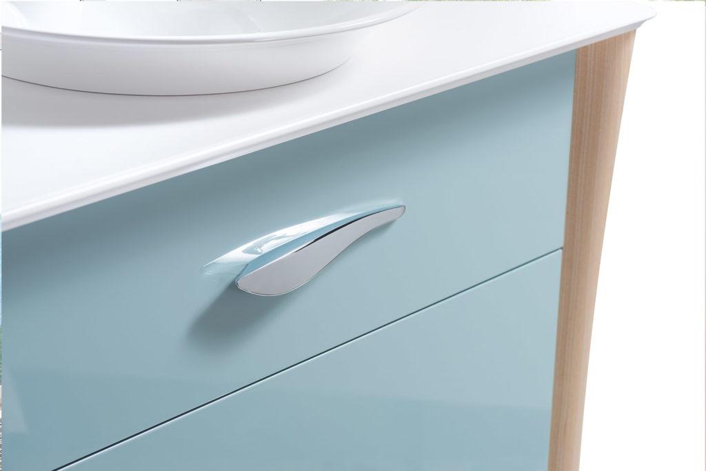 Poignée meuble double vasque Organic