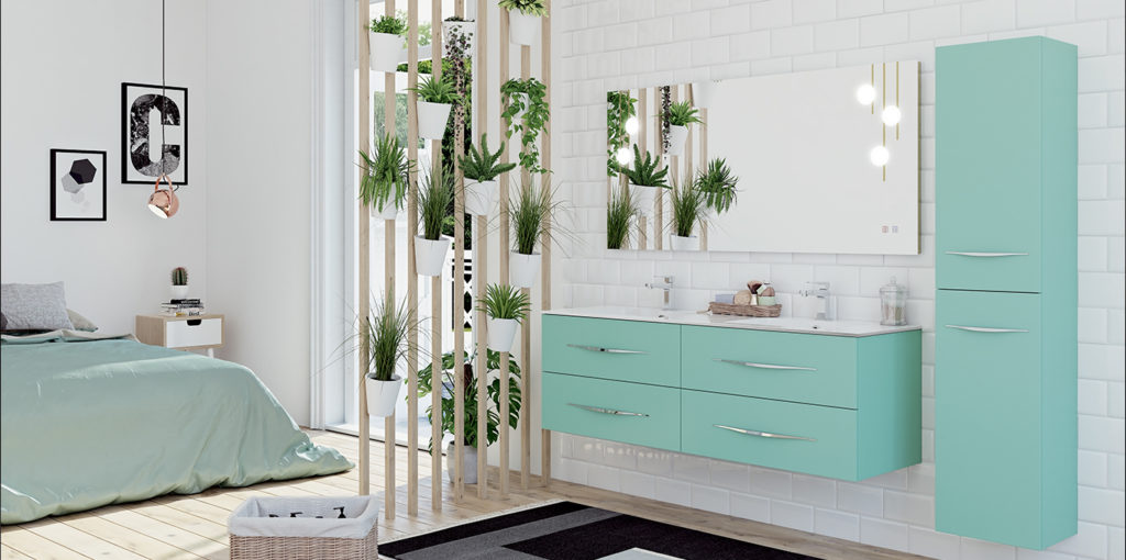 Bento meubles de salle de bains par DECOTEC