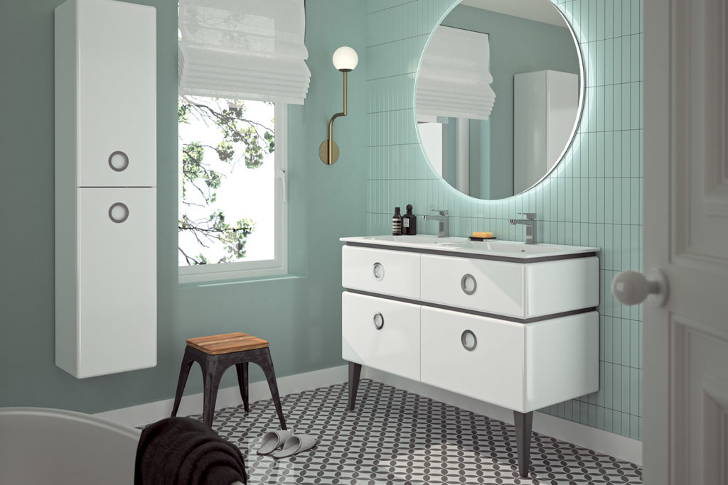 Jolie Môme, meubles de salle de bains par DECOTEC