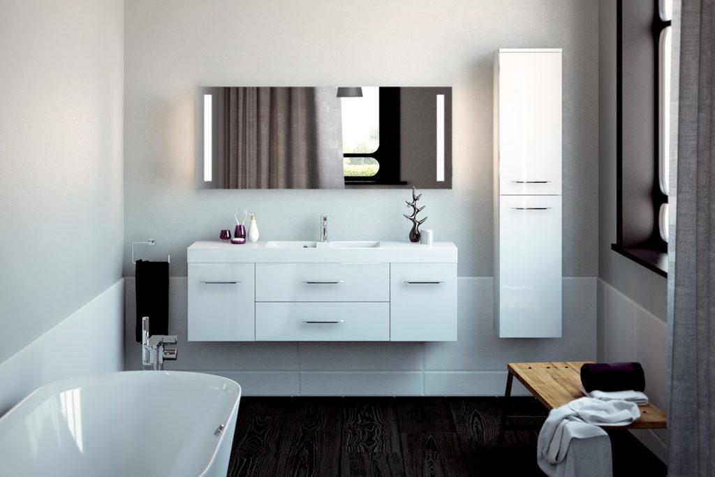 Vanity unit Obbo by DECOTEC