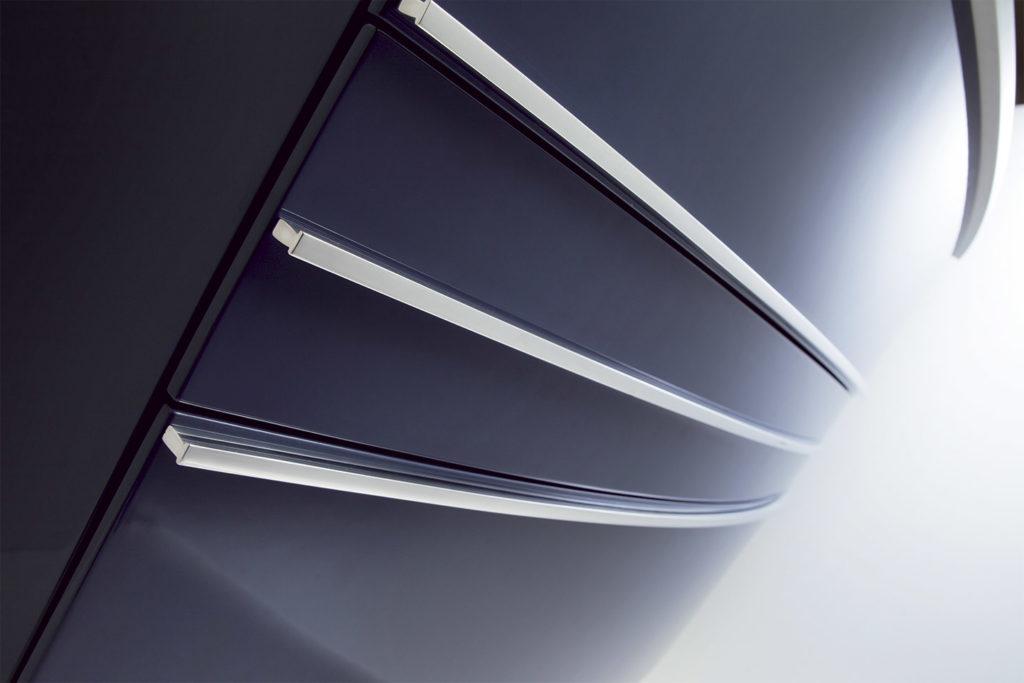 Intérieur tiroir Meuble vasque Concorde par DECOTEC