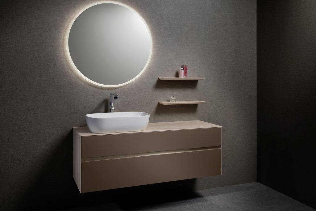 Karma, bathroom furniture by DECOTEC