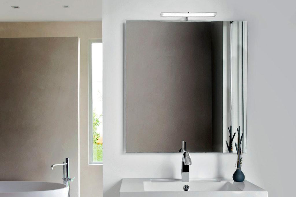Miroir carré Initial par DECOTEC