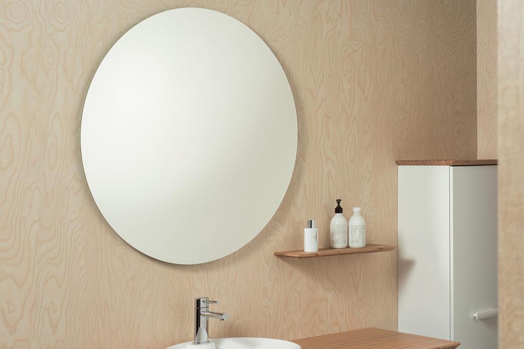 Miroir Initial rond par Decotec