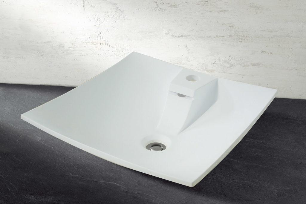 Vasque à poser avec trop plein 40cm